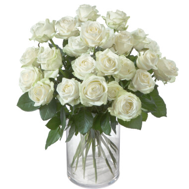 Bunch of White Roses